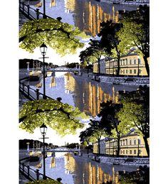 Vallila Aurajoki 140 x 250 cm verho | Karkkainen.com verkkokauppa