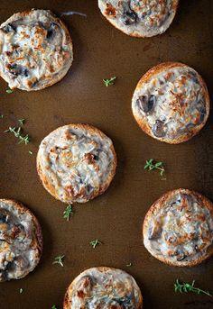 Receta 50: Pan de molde con champiñones, bechamel y queso rallado » 1080 Fotos de cocina