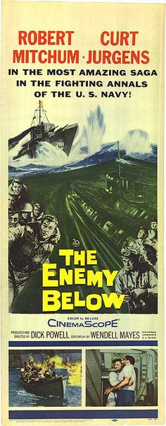 The Enemy Below - buy it at Movieposter.com  good war film