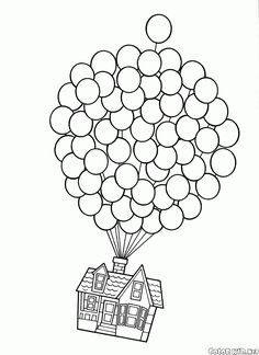 Disney Up Coloring Pages. 20 Disney Up Coloring Pages. Coloring Pages Fabulous Up Coloring Pages Printable Grown House Colouring Pages, Disney Coloring Pages, Free Printable Coloring Pages, Coloring Pages For Kids, Coloring Books, Kids Coloring, Up Pixar, Disney Pixar Up, Disney Movies