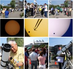 European Space Research and Technology Centre (ESTEC) in Noordwijk, the Netherlands are ramping up for the transit of Venus, visible from sunrise on 6 June for most of Europe.