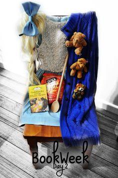 Goldilocks and the Three Bears costume for Book Week