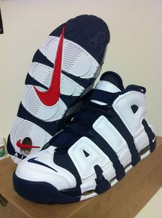 brand new f32fb 89154 Sneakers Nike  DS Nike Air More Uptempo Olympic Pippen Retro 8.5 Max Team  USA Foamposite KD SNEAKERS