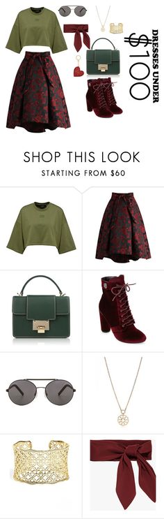 """Look good (under $100)"" by krnas on Polyvore featuring Chicwish, Catherine Catherine Malandrino, Seafolly, Kate Spade and Kendra Scott"