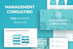 Free Management Consulting Keynote Template Free Powerpoint Presentations, Powerpoint Template Free, Powerpoint Presentation Templates, Keynote Template, Photo Report, Digital Strategy, Save Yourself, Bar Chart, Management