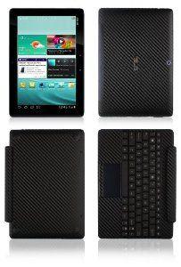 Skinomi Carbon Fiber Skin /& Screen Protector for ASUS Transformer Pad TF103C