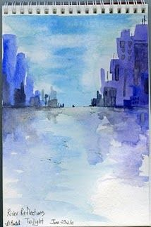Art Mom Project - easy watercolor