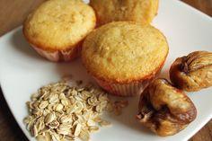 Colazione per tutti: Muffins con fiocchi davena e fichi