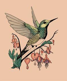 Trendy tribal humming bird tattoo beautiful ideas Silver Hummingbird w m. Hummingbird Art, Hummingbird Tattoo Black, Traditional Tattoo Hummingbird, Tattoo Traditional, Shoulder Tattoos For Women, Bird Drawings, Tattoo Sketches, Drawing Sketches, Future Tattoos