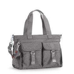 3c7a0cf630 Kipling New Elise Schoudertas Celo Grey Kipling Bags