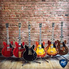 It's Gibsunday! Here are six reasons to celebrate. (From @ecguitars) #gibsonguitars Learn to play guitar online at www.studio33guitarlessons.com