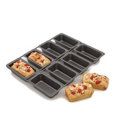 Shop for Chicago Metallic Bakeware & Cake Pans. We carry a full selection of Chicago Metallic Nonstick Bakeware, including the Chicago Metallic Pizza Pan, Loaf Pans and Cookie Sheets. Mini Cake Pans, Mini Cakes, Loaf Pan Sizes, Date Nut Bread, Chicago Metallic, Mini Loaf Pan, Kitchen Items, Kitchen Stuff, Kitchen Tools