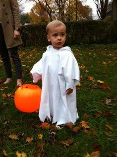 Image result for toddler boy ghost costume