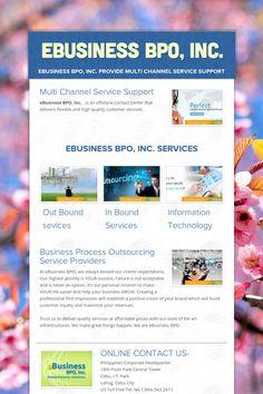 eBusiness BPO, Inc. Online Earning, Seo, Channel, Technology, Education, Business, Tech, Tecnologia, Store