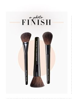 Once you use brushes to do your makeup instead of foam applicators you will NEVER go back!  Makeup Brush Guide #Avon