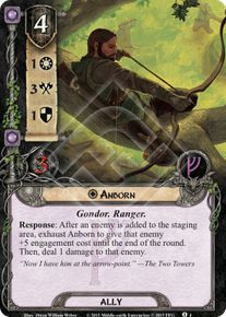 Anborn - The Land of Shadow - Lord of the Rings LCG - Lord of the Rings Spoiler List - Card Game DB