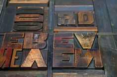 Hamilton Wood Type & Printing Museum, via Flickr.
