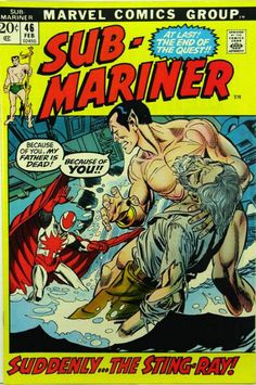 COMIC sub mariner 8 #comic #cover #art