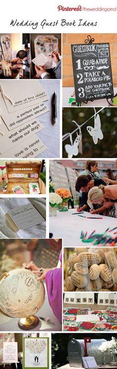 wedding ideas  I love the stone idea and the questions! So cute!