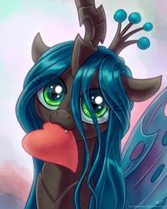 This is adorable! Chrysalis has pretty much always been my favorite antagonist :)