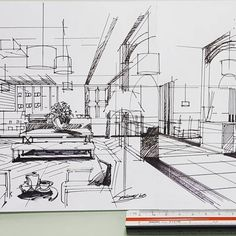 #sketch #cafe #restaurant #interiordesign