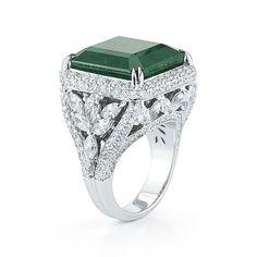 TAKAT Emerald and Diamond Ring