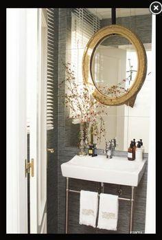 Espejo de pegar con marco adorno