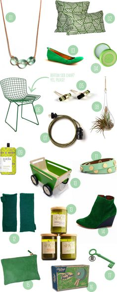 green gift guide #giftguide