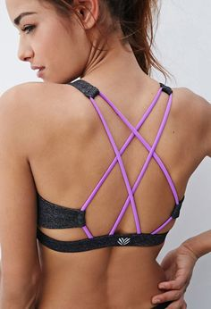 OBSESSED with this sports bra - | Cute workout clothes @ http://www.FitnessApparelExpress.com