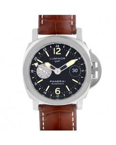 14e9cae7c1d Panerai Luminor GMT Black Dial Automatic GMT Men s Watch PAM 00088 Panerai  Luminor Gmt