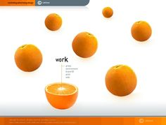 Collection of Outstanding Orange Websites