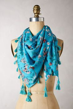 I can smell the Summer- Merton Abbey Scarf #AnthroFave