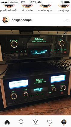 @dcsgencoupe is Mac-ing on 'em! #rp #audiophile #audiovideo #audioporn #audioloveofficial #highendaudio #luxuryaudio #instagood #instamusic #music #musiclover #vinyl #vinylcollection #vinylcollector #vinyljunkie #hifi #sound #amp #speaker #stereosystem #audiosystem #audioengineer #vinyligclub #vinylcommunity #loudspeaker #Mcintosh #preamp #stereo