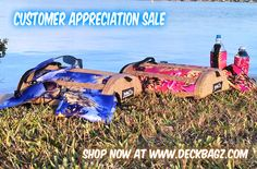 Hot Deals!! DeckBagZ Customer Appreciation Sale Learn about our SUP deck bags features. Watch this quick video demo: https://www.deckbagz.com/pages/embedded-video-page Then check out our 8 colorways of paddleboard deck bags & neoprene accessories for you & your friends' paddling adventures. #Hawaiian #madeinusa #paddleboarddeckbags #supyoga #pink #purple #supdeckbag #standuppaddleboarding #supnation #repostmysup #instasup #suplife#madeinamerica #hibiscus #tropical #surf #supgear…