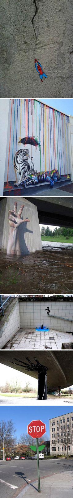 Ejemplos de Street Art