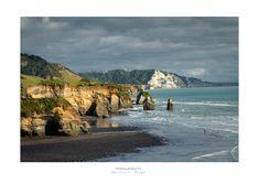 The Fisherman - Tongaporutu | A lone fisherman enjoys the la… | Flickr