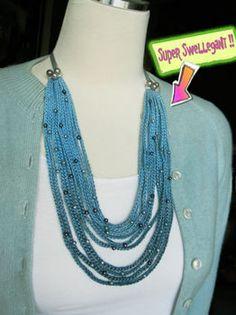 Crochet Ombre Necklace