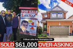 *Proving the Save Max Motto* Throwback to the day when you sold 9 Blue Lake Ave in a Day and that too $61000 above asking price.⠀ ⠀ #Savemax #realestate #bramptonhomes #soldaboveasking #success #investor #sellinghome #savemore #soldhomes #savemaxrealestae  #realestatesales