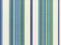 Beachcomber Stripe in Neptune colorway | Wild Side collection by Perennials Fabrics
