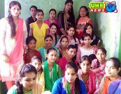 खुरजा में वाॅयस आॅफ वुमेन की पहल से हजारो निर्धन छात्राऐं बन रही आत्मनिर्भर   UMH NEWS INDIA