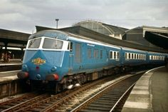 BLUE PULLMAN PADDINGTON SEP 1962 Rail Photo | eBay