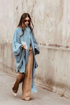 New York Fashion Week Fall 2019 Street Style Fashion Mode, Modest Fashion, Look Fashion, Winter Fashion, Womens Fashion, Fashion Trends, Lifestyle Fashion, Fall Fashion Week, Fashion Lookbook