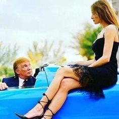 Donald And Melania, Trump One, First Lady Melania Trump, Presidents, Celebrity Style, Celebrities, Instagram, Fashion, Moda