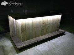 Pallet Outdoor Kitchen Bar DIY Pallet Bars