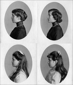 FOUR SISTERS  Olga, Tatiana, Maria et Anastasia ROMANOV