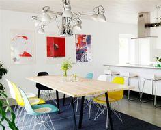 Sillas   The Design Chaser: Homes to Inspire | Tailor-Made in Sweden