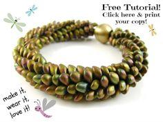 Miyuki Long Magatama Beads