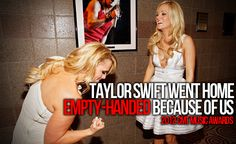 hahaha this is great...I love T. Swift, but I love Miranda and Carrie so much more.