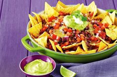 Quick-smart Nachos. No need to reach for the packets with these ready-in-a-flash nachos.