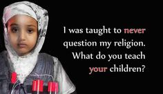 What do you teach your children?